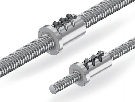 THK HBN serisi vidalı miller özellikle ağır yükler için geliştirilmiştir.